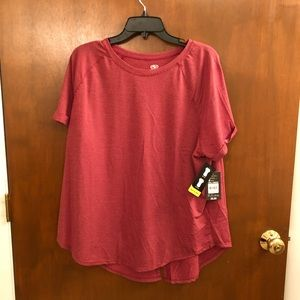 NWT Athletic Works exercise top